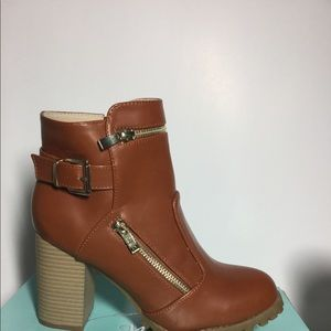 New Mango ankle booties